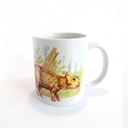 Ajkaceratops bögre